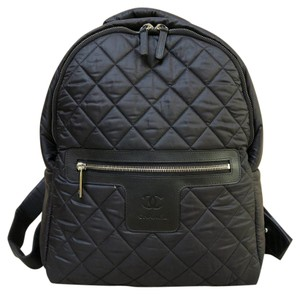 Chanel Satin Backpack