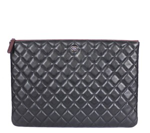 Chanel Classic Black Clutch