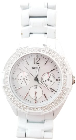 Preload https://item2.tradesy.com/images/guess-white-mother-of-pearl-waterpro-watch-1943421-0-2.jpg?width=440&height=440