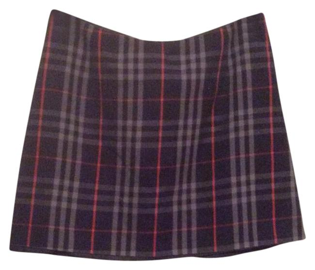Item - Blue Multi Plaid Skirt Size OS (one size)