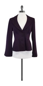Nanette Lepore Purple Wool Jacket