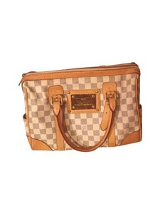 Louis Vuitton Tote in White grey with gold hardware