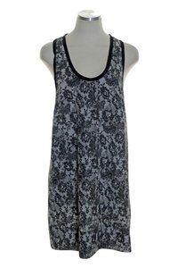 Joie short dress Black Racerback Woven Printed on Tradesy