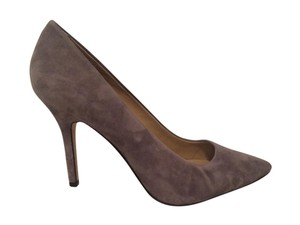 Ann Taylor Pointed Toe Suede grey Pumps