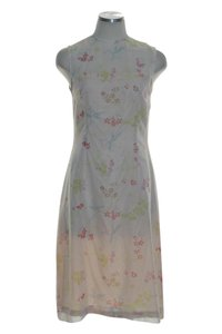 Oilily short dress Ivory Woven Chiffon A-line on Tradesy