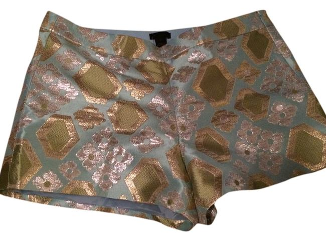 Item - Blue L Collection Geo Brocade New Shorts Size 12 (L, 32, 33)