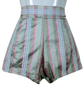 Lisa Nieves Boyfriend Spring Shorts Soft pink/white/lightgreen