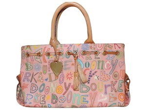 Dooney & Bourke Satchel in Pink