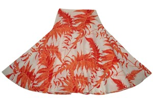 Les Copains Fit & Flare A-line Printed Skirt