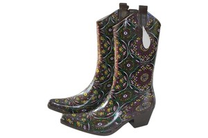 Corkys Rainboots Cowgirl Boots