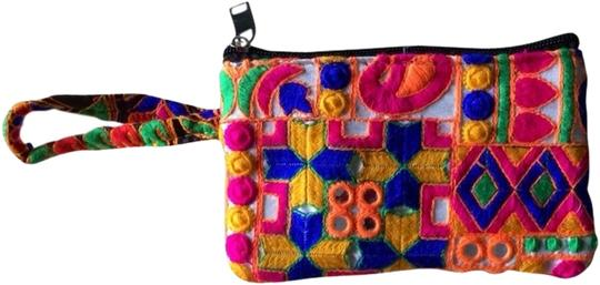 Preload https://item1.tradesy.com/images/colorful-pouch-indian-new-vibrant-multicolor-wristlet-1943530-0-0.jpg?width=440&height=440