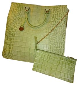 Dooney & Bourke Tote in Lime Green