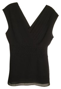 Banana Republic Sleeveless Top Black