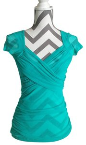 Sweet Pea by Stacy Frati Top Teal