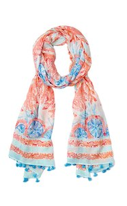 Lilly Pulitzer Sienna Wrap in Pewter Pink Sole Seaurchin