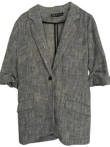 Elizabeth and James Tweed Blue Blazer
