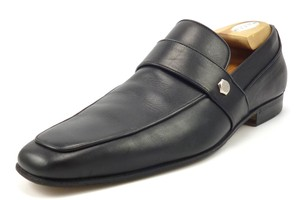 Gucci Men's Leather Strap Slip On Loafers