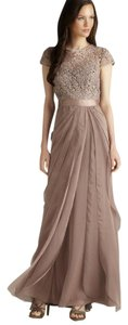Adrianna Papell Lace Flutter Tiered Dress
