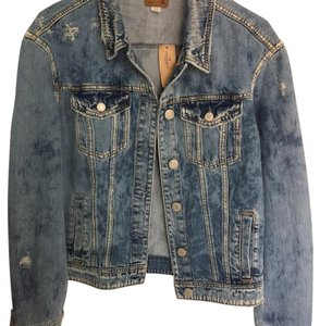 American Eagle Outfitters Blue Denim Womens Jean Jacket