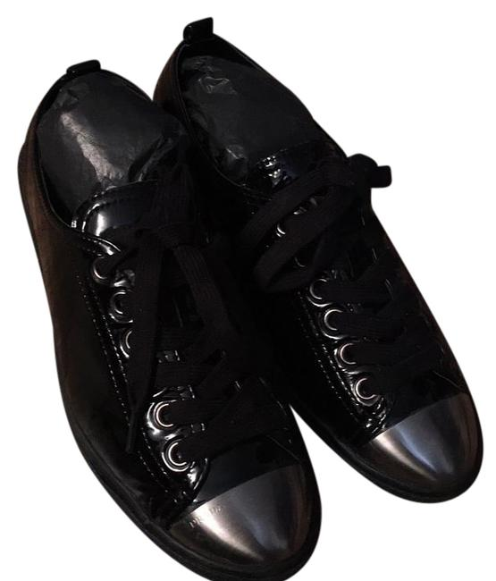 Prada Black Sneakers Size US 6 Regular (M, B) Prada Black Sneakers Size US 6 Regular (M, B) Image 1