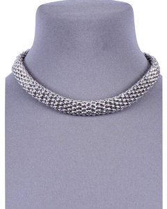 Dina Aziza Unique Must Have Staple Necklace with Rhinestone Detailed Clasp