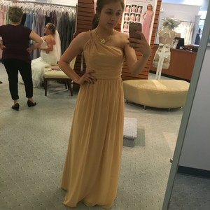 Alfred Angelo Gold Dress