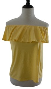 Lilly Pulitzer Yellow Halter Top
