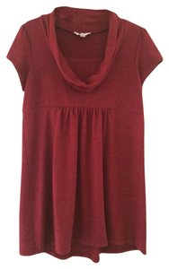 Three Seasons Maternity Red Knit Tunic