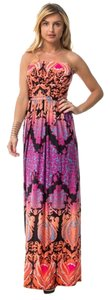 Peach Maxi Dress by Other Hippie Boho Island The Treasured Hippie Affordable