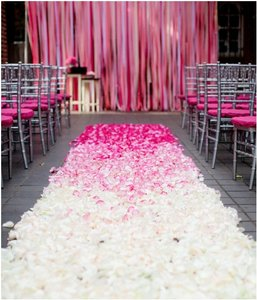 5000x Silk Rose Petals Wedding Bridal Party Flower Decoration Tabletop Centerpieces Decor
