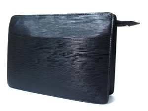 Louis Vuitton Epi Black Clutch