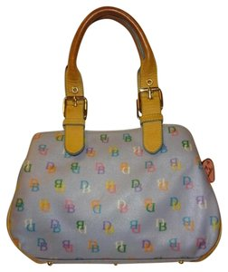 Dooney & Bourke Satchel in Blue Multi