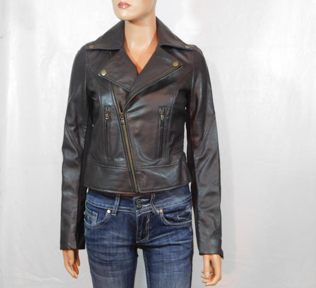 Isabella Lucca Brown Leather Jacket Image 2