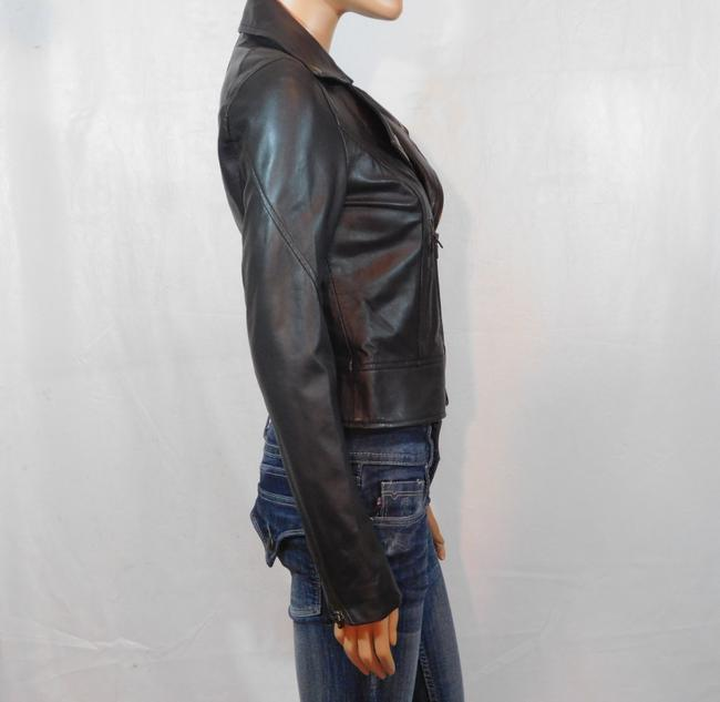 Isabella Lucca Brown Leather Jacket Image 3