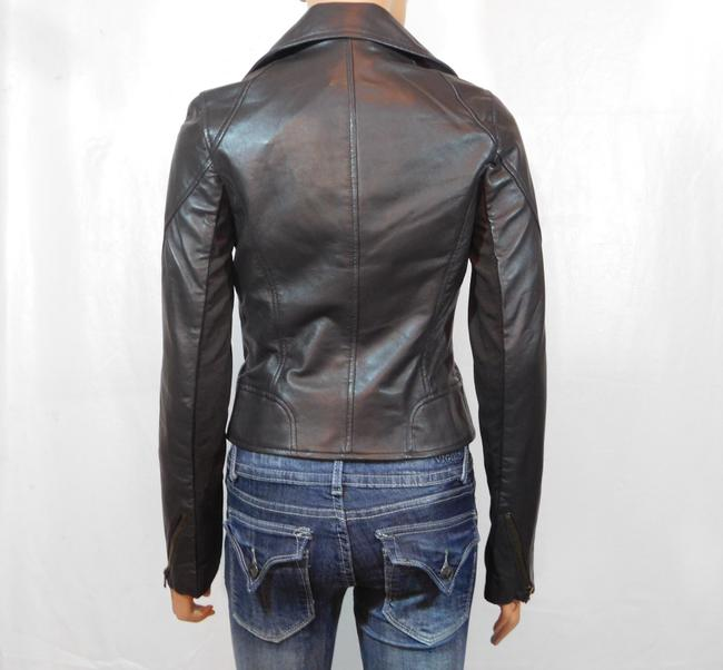 Isabella Lucca Brown Leather Jacket Image 5
