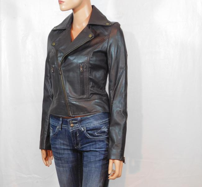 Isabella Lucca Brown Leather Jacket Image 6