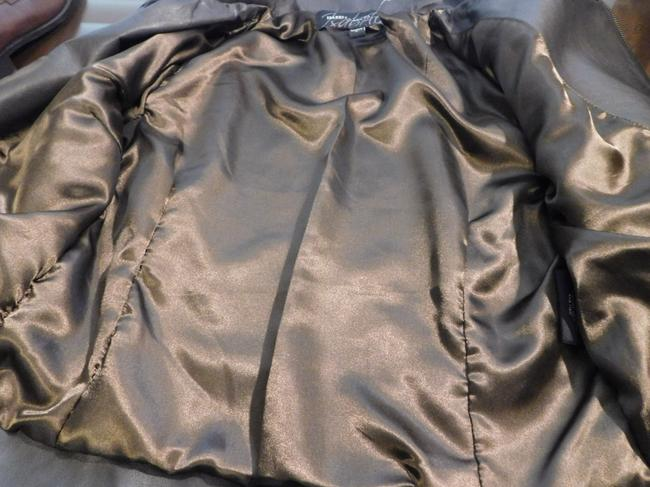 Isabella Lucca Brown Leather Jacket Image 8