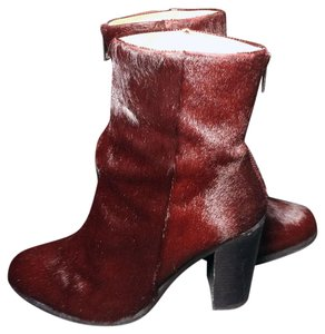 AllSaints Oxblood Red Boots