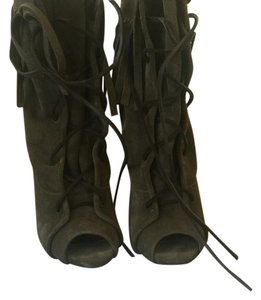 Giuseppe Zanotti Olive green/brown Boots