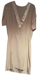 Mason short dress Beige on Tradesy