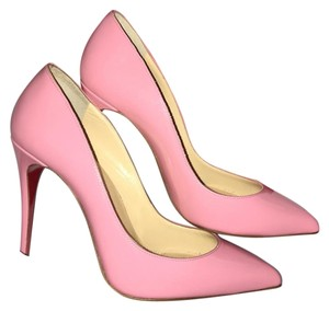Christian Louboutin Pink Pigalle Follies Pumps