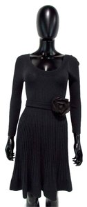 Rebecca Taylor Rib Knit Sweater Dress