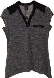 Susan Lawrence Top Black amd gray