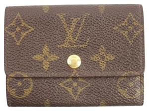 Louis Vuitton Monogram Coin Pouch 5LVA909