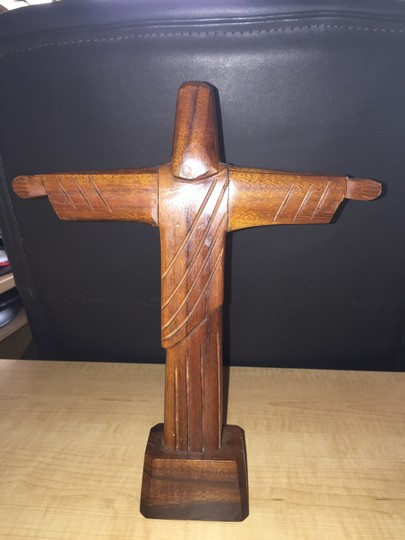 Other Brazilian Carved Christ the Redeemer Statuette [SisterSoul Closet ]