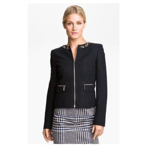 MICHAEL Michael Kors Chain Boucle Motorcycle Jacket