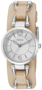 Fossil Fossil Women's Georgia Artisan Sand Leather Watch ES3854