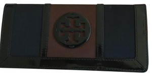 Tory Burch Wallet Black/brown Clutch
