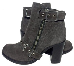 AllSaints New Jules Suede Size 8.5 Gray Boots