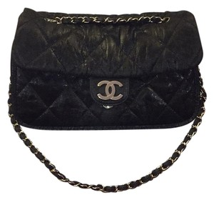 Chanel Tote in Black With Silver Hardware